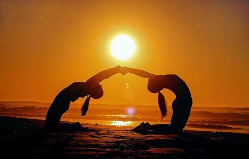Hot Yoga March