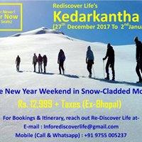 Kedarkantha Trek (26th December 17 To 02nd January 18)