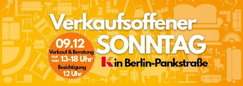 Verkaufsoffener Sonntag At Möbel Kraft Pankstraße 32 39 Berlin