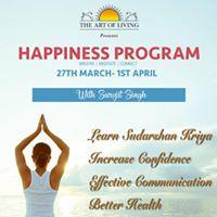 Happiness Program With Sarvjit Singh &amp Ashish Sharma