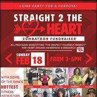 Straight 2 The HEART Zumbathon