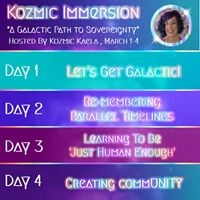 Kozmic Immersion - A Galactic Path to Sovereignty