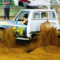 Truck Tug of War at the Harrison County Fair