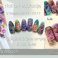 Nail art edukacija Edina Albach