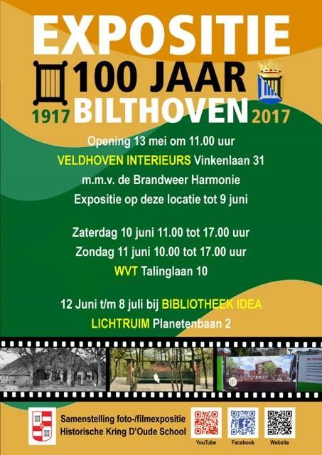 Expositie 100 jaar Bilthoven at Veldhoven Interieurs, Bilthoven