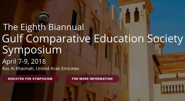 8th Biannual GCES Symposium at Hilton Garden Inn Ras Al