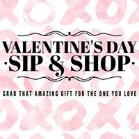 Valentines Day Sip &amp Shop