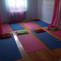 Lugn Yoga Som terhmtning Vid Stress