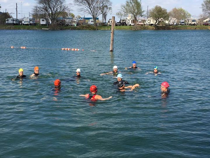 Team Coci Open Water Swim 3 At Twin Lakes Rv Resort