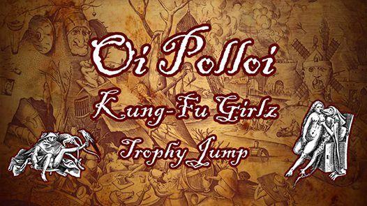 Oi Polloi SCO Kung-Fu Girlz CZ Trophy Jump CRO at 007