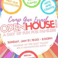 Camp Gan Israel Open House