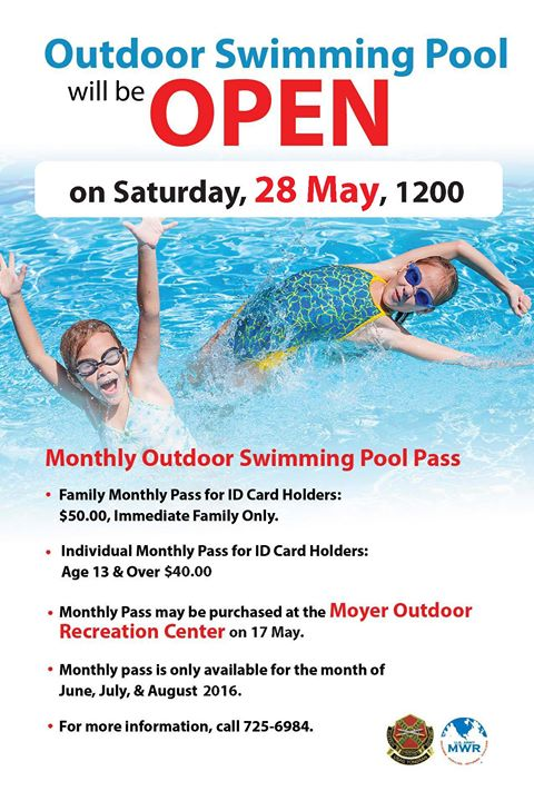 Swimming Pool Marketing : Outdoor swimming pool opens st james parish
