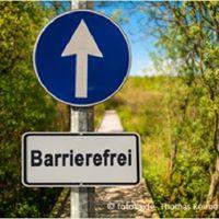 Barrierefreiheit Mitdenken- Mitsehen- Mithren