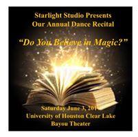 Starlight Studio 2016-2017 Dance Recital