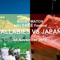 RUGBY Match with SAKE Festival