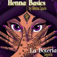 Henna Basics ( Segovia)