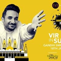Vir Das live in Surat - BoardingDAS Tour