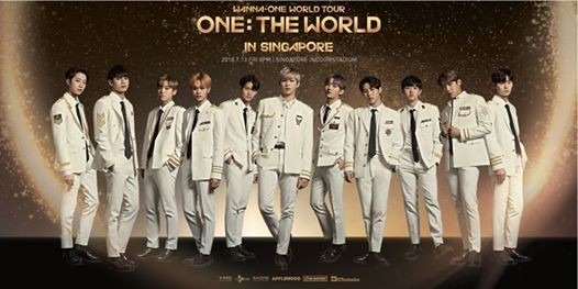 Wanna One World Tour ONE  The World In Singapore