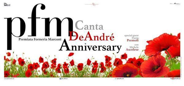 PFM canta De Andr Anniversary Firenze