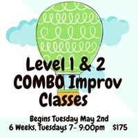Level 1 &amp 2 Combo Improv Classes