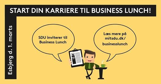 Business Lunch 2019 - SDU Esbjerg