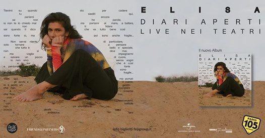 Elisa in concerto a Cagliari (2a data)