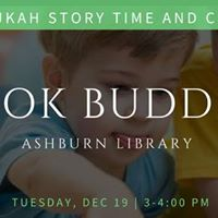 Chanukah Story Time and Crafts at Ashburn Library