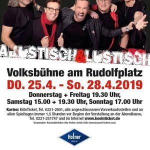 Akustisch & Lustisch 2019 - RUBER Unplugged Konzert
