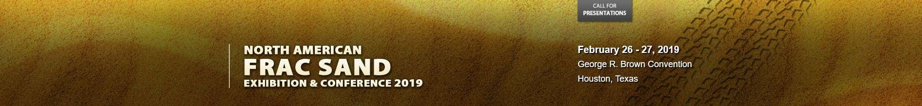 North American Frac Sand 2019 Exhibition and Conference