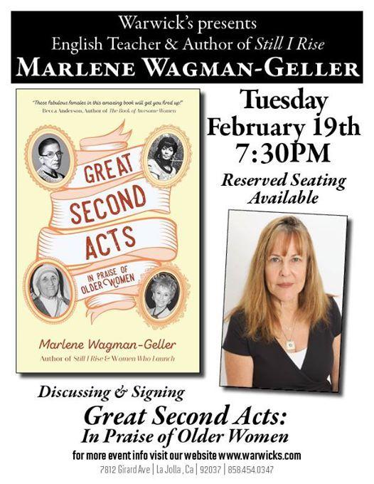 Marlene Wagman-Geller - Great Second Acts