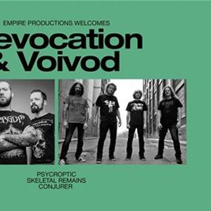 Revocation & Voivod with Psycroptic and more