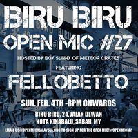 Biru Biru Open Mic 27