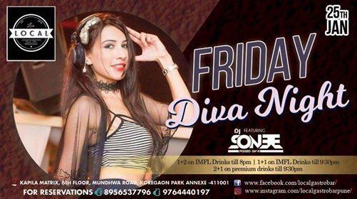 Friday Diva Night - DJ SONEE