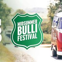 Busstoff beim Midsummer Bulli Festival 2018
