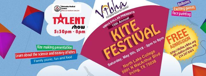 Vibha Dallas Kite Festival