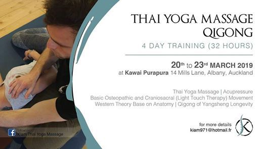 Thai Yoga Massage Qigong 4 Days Training