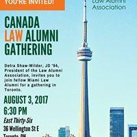UM Law Alumni Social in Toronto