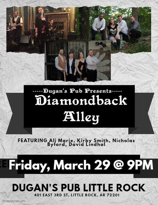 Diamondback Alley LIVE at Dugans Pub