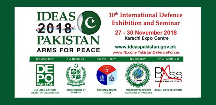 IDEAS 2018 (10th International Defence Exhibition and Seminar) at
