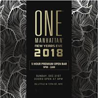 One Manhattan Formerly Tenjune New Years Eve NYE 2018
