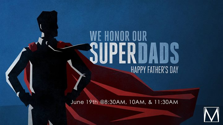 Fathers Day Service at Metro Life Church, Lafayette