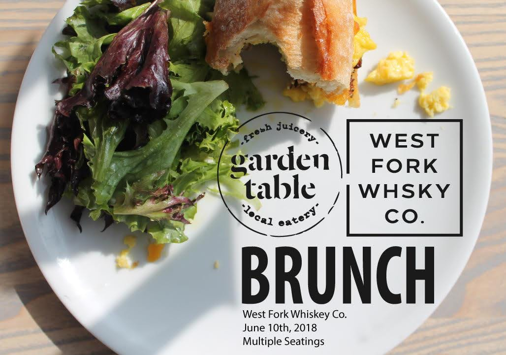 West Fork Whiskey X Garden Table Brunch Series Indianapolis - Garden table indianapolis