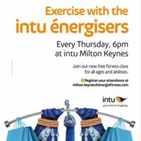 Exercise with the intu nergisers