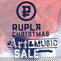 RUPLA Christmas art &amp music sale