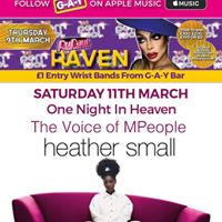 One Night In Heaven - HEATHER SMALL At G-A-Y