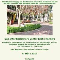 IDC Herzliya is coming to Berlin