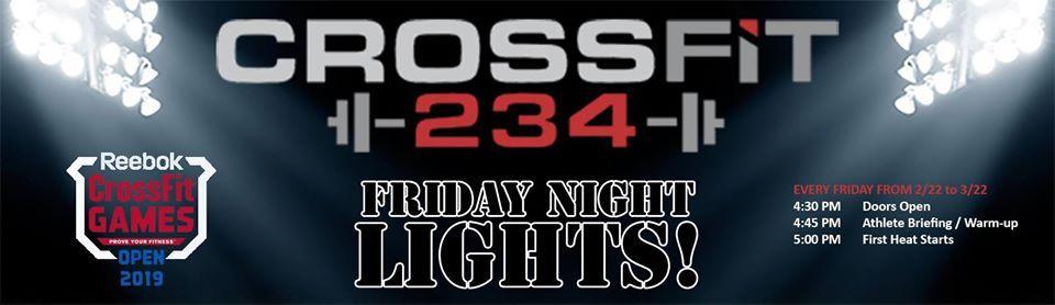 Friday Night Lights  2019 CrossFit Open