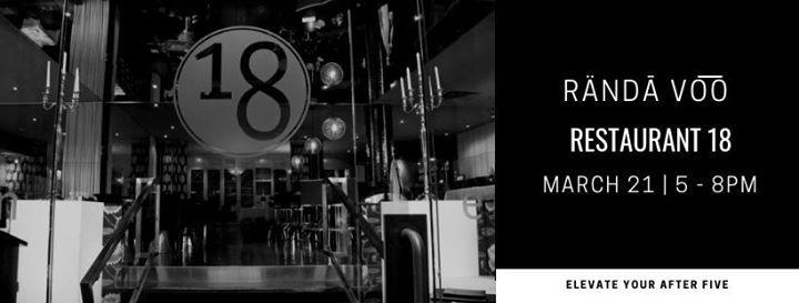 VIP Edition  RND VOO Restaurant 18 March 21 5-8PM