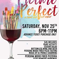 Picture Perfect ( A Paint &amp Sip Event )