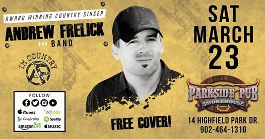 Andrew Frelick Band at Parkside Pub & Smokehouse